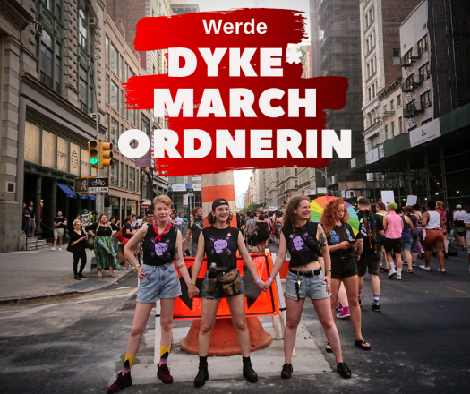 Dyke- March Ordnerin